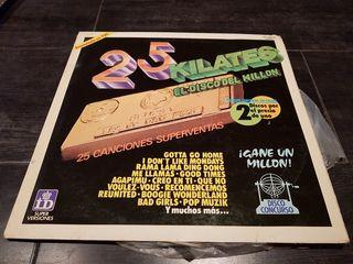 disco vinilo 25 kilates el disco del millón