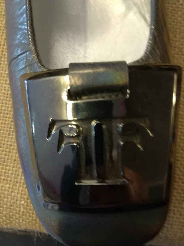 Zapatos plata farruts 40