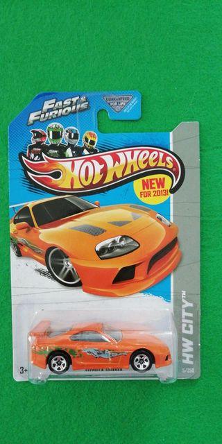Hot Wheels Fast & Furious Toyota Supra de Brian O