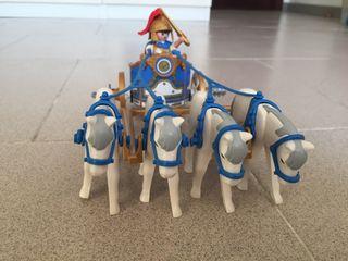 Playmobil romano cuadriga