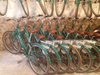 Alquiler bicicleta taller