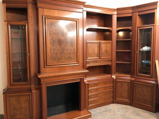 Mueble Salon Madera Maciza De Segunda Mano Por 530 En Santa Marta - Salon-madera