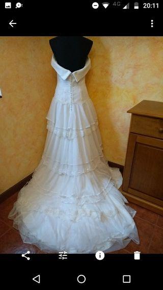 Vestido de novia talla 44 Rebajado