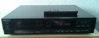 Reproductor compact disc Sony