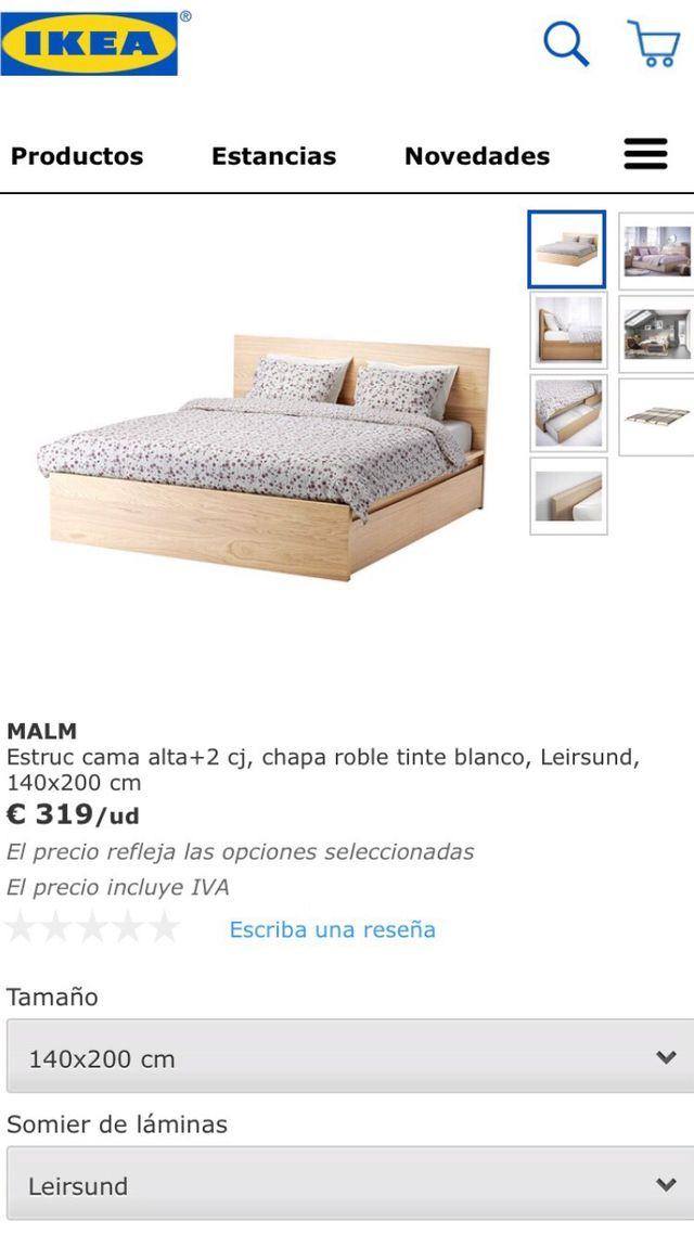 Dorable Cama Doble Marco Ikea Bosquejo - Ideas para Decorar con ...