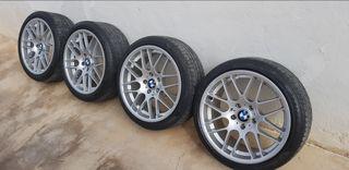 llantas m3 BMW csl 18 pirelli pzero runflat