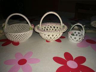 cestas ceramica