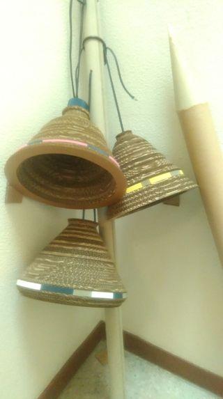 lamparas de carton