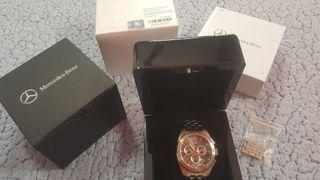 Reloj Mercedes Motorsport plata