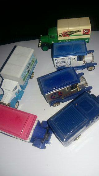 6 camiones de colección