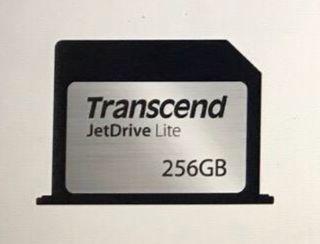 Tarjeta Transcend JetDrive 256