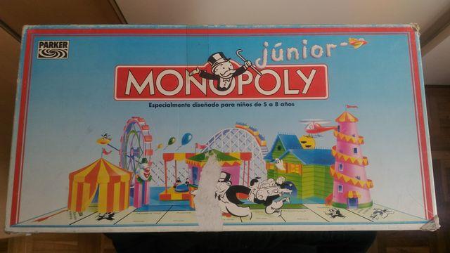Juegos De Mesa Junior Monopoly Party Amp Co De Segunda Mano Por