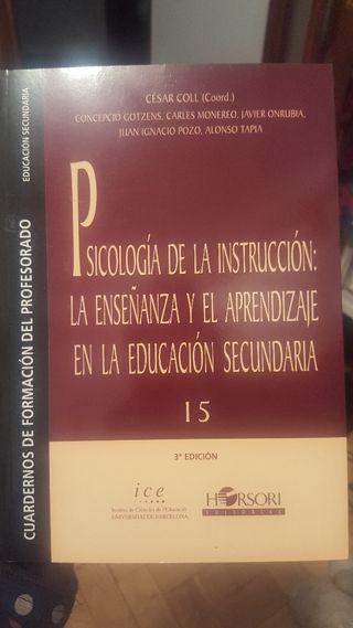 Libro Psicología de la instrucción: La enseñanza..