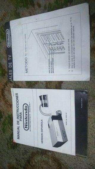 manuales consolas