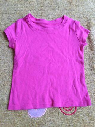 camiseta 6-9m