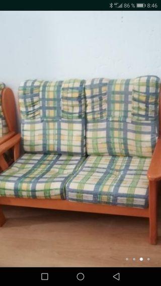 sofá de 2 plazas