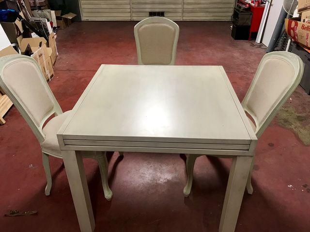 Mesa comedor blanca de segunda mano por 435 € en Cabrils en WALLAPOP