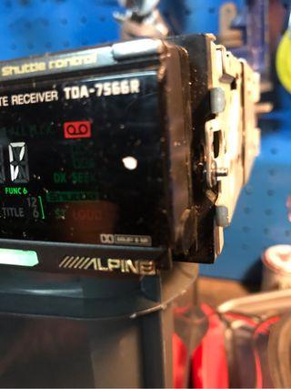 Alpine tda 7566 r