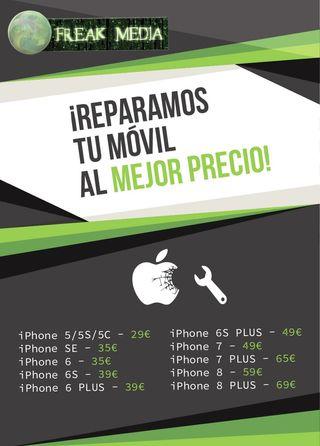 REPARA TU IPHONE EN FREAKMEDIA!!!