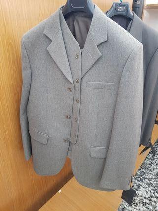 chaqueta y chaleco de hombre