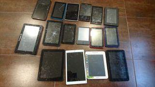 lote de tablets para piezas