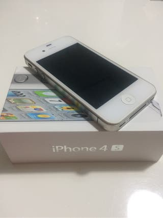 Iphone 4s 16gb Blanco - Libre