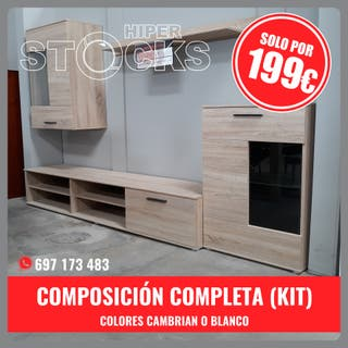 COMPOSICIÓN COMPLETA 2.4M.(KIT) REBAJADO!