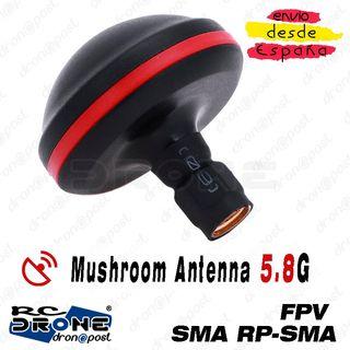 Mushroom Antena JMT 5.8GHz SMA RP-SMA 5.8G Alta Ca