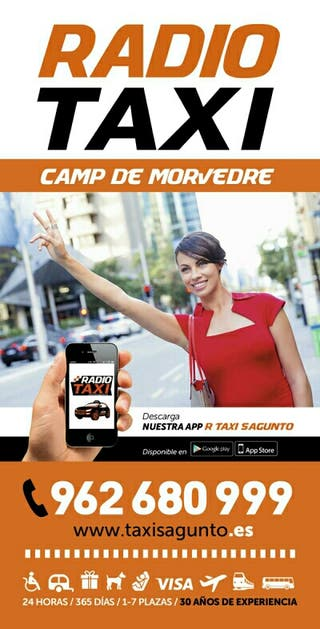 TAXI SAGUNTO 962680999 AREA CAMP DE MORVEDRE