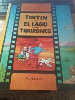 Tintin en El Lago de Los Tiburones