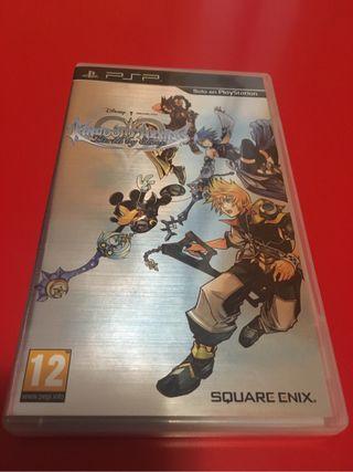 Kingdom Hearts Birth by sleep Psp