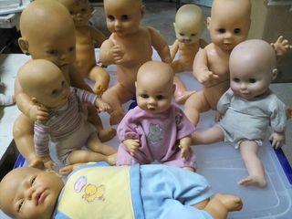 Lote Muñecas muñecos