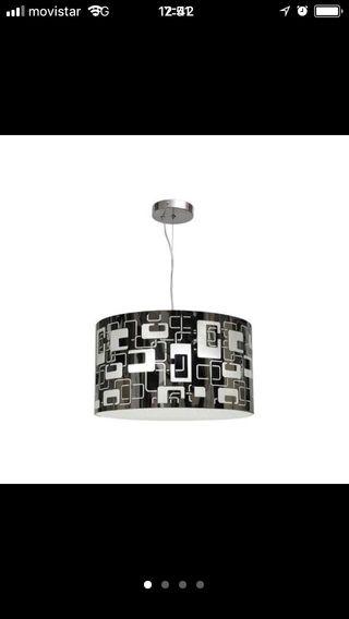 Lampara colgante de diseño METÁLICA 18w LED OFERTA