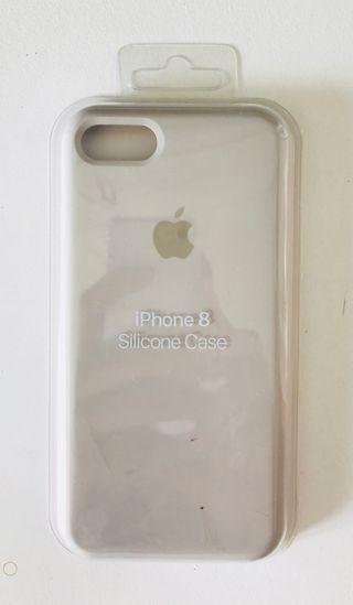 Funda iphone gris