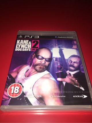 Kane & Lynch 2: Dog days precintado Ps3