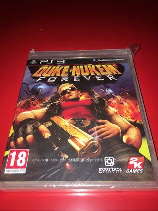 Duke Nukem Forever precintado Ps3