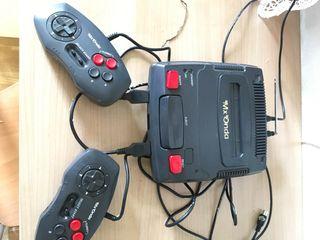 Consola MxOnda con juegos