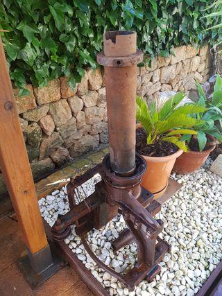 Piezas de tractor para decorar jardin