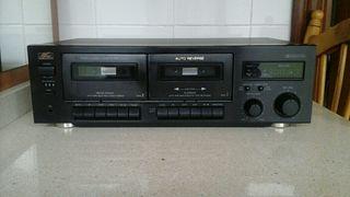 AC Cassette Acoustic Control doble auto reverse.