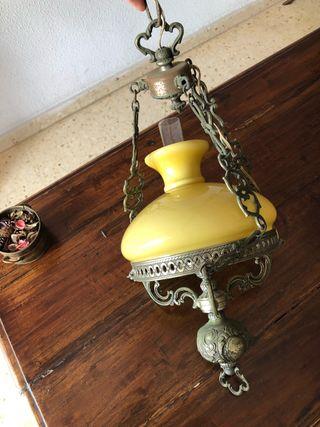 Lámpara antigua años 70