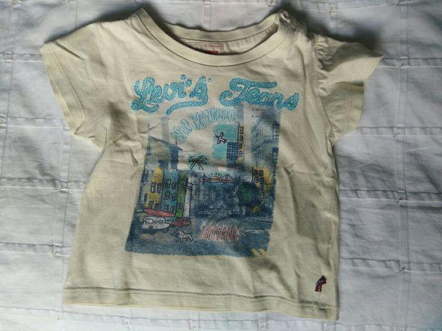 Camiseta levi's niño 12meses