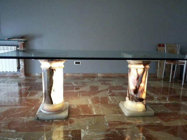 Mesa comedor cristal de segunda mano por 270 € en Gavà en WALLAPOP