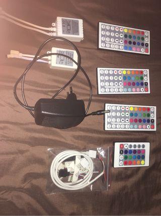 Mandos y accesorios leds