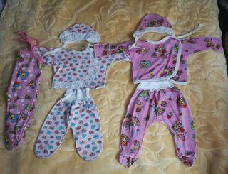 ropa para recién nacidos