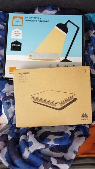 Router Livebox + ONT FIBRA Huawei