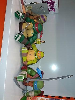 Pack 4 Huchas Busto Tortugas Ninja