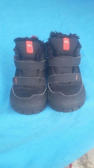 botas niño 26 quechua