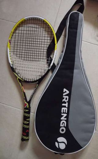 Raqueta de tenis Artengo con funda