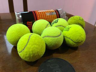 Pelotas de tenis usadas