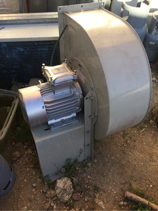Ventilador campana extractora